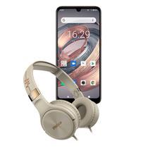 KIT Philco Smartphone PCS02RG 128GB Hit Max + Fone PFO02G -