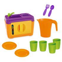Kit pia color chefs c/ 9 acessórios - Mania toys