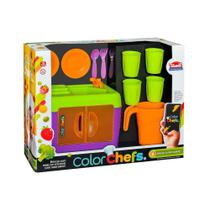 Kit Pia Com Assessórios Color Chefs Usual Plastic 416 Unissex + 3 anos APP GAME  ANDROID -