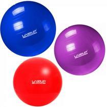 Kit Pilates com 3 Bolas Suicas Tamanhos 45 Cm + 55 Cm + 65 Cm Liveup -