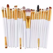 Kit Pinceis Maquiagem Profissional 20 Peças Pincel Cerdas - Shoopweb