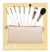 cbba1fd250489 Kit Pincel De Maquiagem Profissional 8 Peças Du Care
