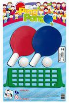96287e4b8 Kit Ping Pong C 2 Raquetes 2 Bolas E 1 Rede Plastico 15