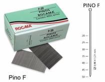 Kit pino prego para grampeador pinador rocama f-20 20mm com 4992 pinos -