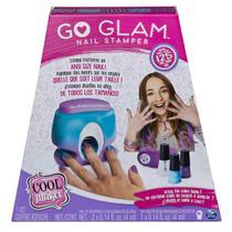 Kit Pintar Unhas E Máquina De Aplicação Go Glam Nail Stamper Sunny -