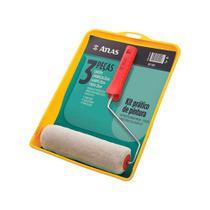 Kit Pintura Atlas 1001 Com 3 Pe0026199as  1001 -