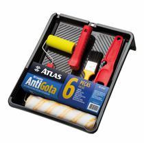 KIT PINTURA ATLAS ANTIGOTA c/ 06 PCS - AT1017 -