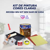 Kit Pintura Cores Claras - Constinta