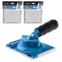Kit Pintura Pad Recorte 360 Atlas C/ 2 Kit Refis Premium -