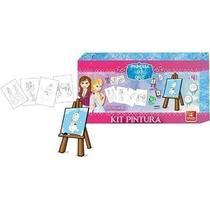 Kit Pintura Princesa do Gelo 4056  Brincadeira de Criança - Brinc.Decrianca