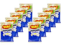 Kit Pipoca de Micro-ondas Yoki Manteiga 50g - 10 Unidades