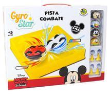 Kit Pista Arena de Combate Giro Star Mickey e Amigos Disney Dtc -