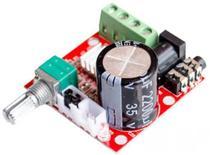 Kit Placa Amplificador Digital 15+15 30w Rms Módulo Potência - Brasil Home