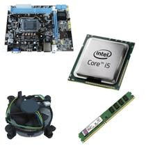 Kit Placa Mãe BRPC 1155 + Processador Intel Core I5 3570 3,4GHZ + 4GB Ram Kingston - Brazil pc