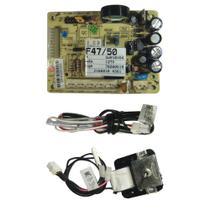Kit Placa Motor Ventilador Refrigerador Electrolux 70001455 - 127v -