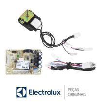 KIT Placa Potência + Sensor + Motor do Ventilador 127V 70001453 Refrigerador Electrolux DF46, DF49 -