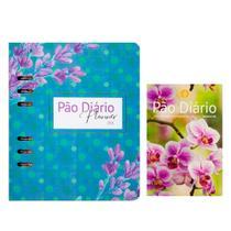 Kit Planner 2021 Azul + Devocional Pão Diário - Premium C