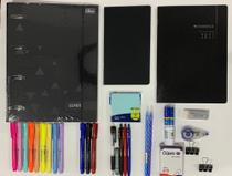 kit planner cambridge + fichário lunix e acessórios TILIBRA -