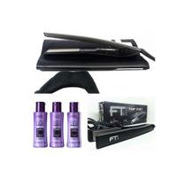 Kit Plastica dos Fios Cadiveu (110ml cada) + Prancha  Profissional FT1 Hair Iron Tool - Cadivel profissional