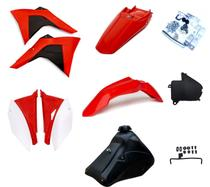 Kit Plástico Amx Adaptável Crf 230 P/ Xr 200 Xr 250 Tornado -