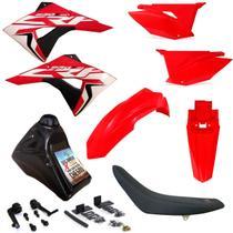 Kit Plástico Completo Crf 230 Adaptável Xr 200 Xr 250 - Biker/X-Cell