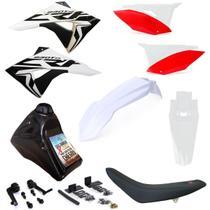 Kit Plástico Completo Crf 230 Adaptável Xr 200 Xr 250 Tornado - Biker/X-Cell
