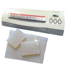 Kit Plastificação - Plastificadora Menno + 320 Polaseal 110V -