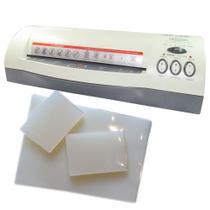 Kit Plastificação - Plastificadora Menno + 320 Polaseal 220V -