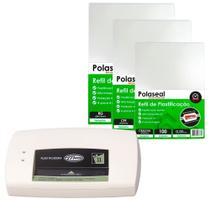 Kit Plastificação - Plastificadora PLM11 + 300 Polaseal 110V - Menno