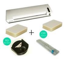 Kit Plastificadora 3x1 regua refiladora canteadeira polaseal - OkayShop