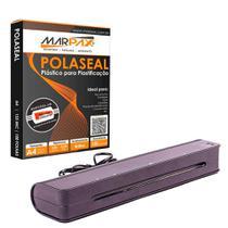 Kit Plastificadora A3 Menno Compact + 100 Polaseal 220V -