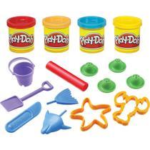 Kit Play-Doh Mini Balde 23414 Hasbro Sortido -