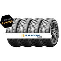 Kit pneu aro 13 - 165/70r13 88h std atrezzo sh406 sailun 4 peças -