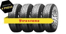Kit pneu aro 13 - 165/70r13 f-600 79t firestone 4 peças -