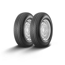 Kit pneu aro 13 - 6.45-13 falco f2 4l maggion 2 peças -