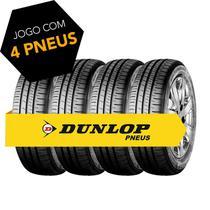 Kit pneu aro 14 - 175/70r14 88t r1 dunlop 4 peças -