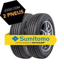 Kit pneu aro 14 - 185/70r14 88t bc10 sumitomo 2 peças -