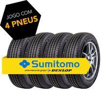 Kit pneu aro 14 - 185/70r14 88t bc10 sumitomo 4 peças -