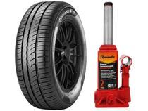 """Kit Pneu Aro 14"""" Pirelli 175/65R14 82T - Cinturato P1 + Macaco Hidráulico 2 Toneladas"""