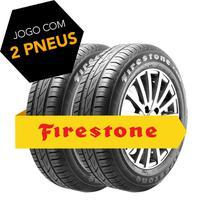 Kit pneu aro 15 - 195/65r15 91h f-600 firestone 2 peças -