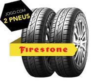 Kit pneu aro 16 - 205/55r16 91 v f-600 firestone 2 peças -
