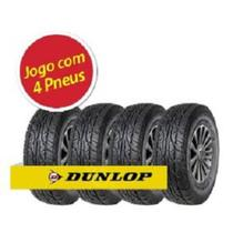 Kit Pneu Aro 17 Dunlop 265/65R17 112S At25 4 Unidades