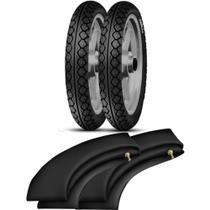 Kit Pneu Biz Pop 80/100-14 + 60/100-17 MT15 Pirelli - Pirelli Moto