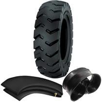 Kit Pneu Empilhadeira 600-9 Ci84 12 Lonas Tubetype Pirelli + Camara + Protetor - Pirelli Agro