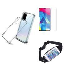Kit Pochete Samsung Galaxy S20 + Capinha Anti Impacto + Película de Vidro -