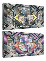Kit Pokémon Box Premium Espeon-Gx E Umbreon-Gx Carta Grande - Copag