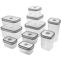 Kit Potes para Cozinha com Tampa 10 Unidades Electrolux -