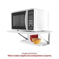 Kit Prateleiras c/ Suporte p/ Microondas em Aço Multivisão - Multivisao