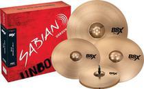 Kit Prato Sabian B8x Performance Set Plus 14 16 18 20 -