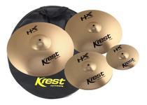 Kit Pratos Krest Hx Set1 sp 10 14 16 20 com Bag -